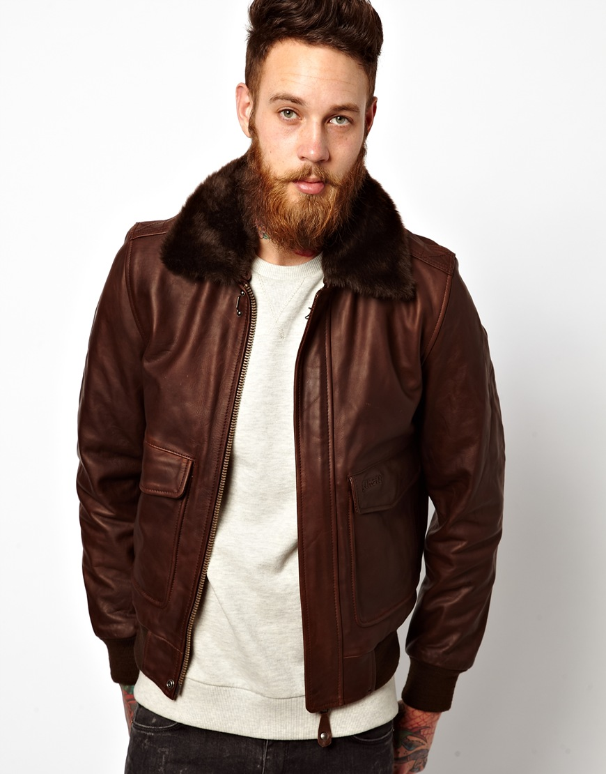 Which Schott leather flight jacket is this?