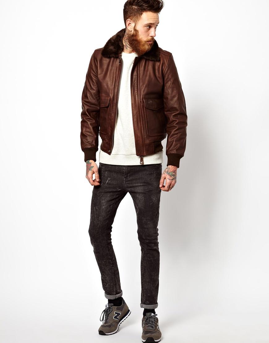 Which Schott leather flight jacket is this?