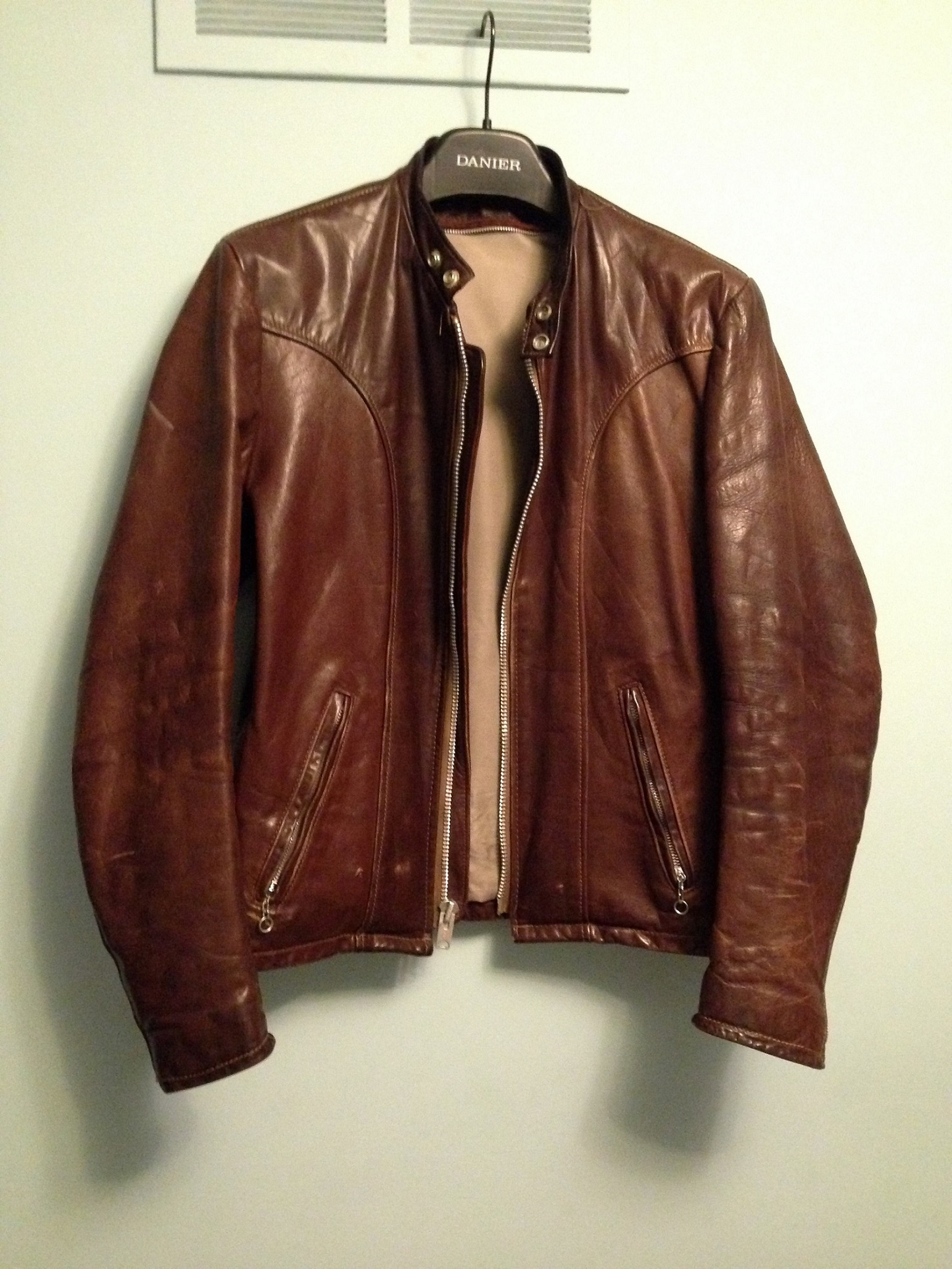 Leather jacket conditioner - Conditioning A Vintage Schott Possibly 157