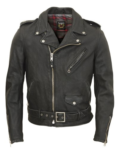 626VN - Vintaged Lightweight Waxy Cowhide Fitted Motorcycle Leather Jacket
