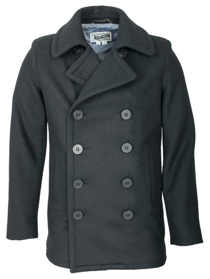751 - 24 oz. Slim Fit Fashion Pea Coat (Navy)