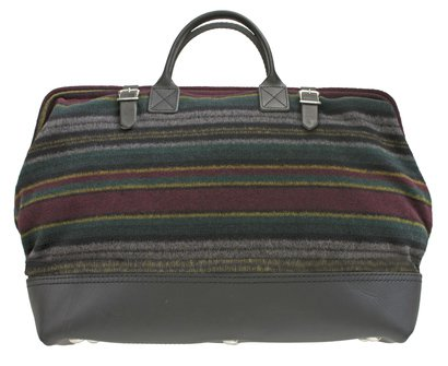 PB306 - Wool and Leather Mason Bag