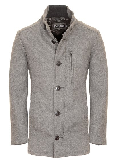 "DU739 - 31"" 24 oz Wool Blend Car Coat (Oxford Grey)"