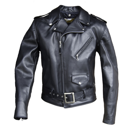 Classic Perfecto Steerhide Leather Motorcycle Jacket 618