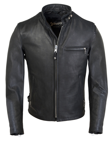 Classic Racer Leather Motorcycle Jacket 141