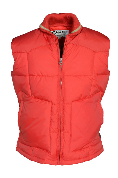 27 Quilted Down Western Vest 9206dv