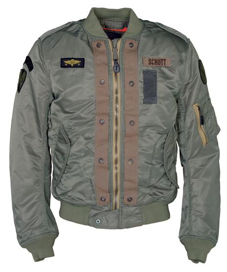 27 Nylon Flight Satin Fashion Ma-1 Jacket 91223