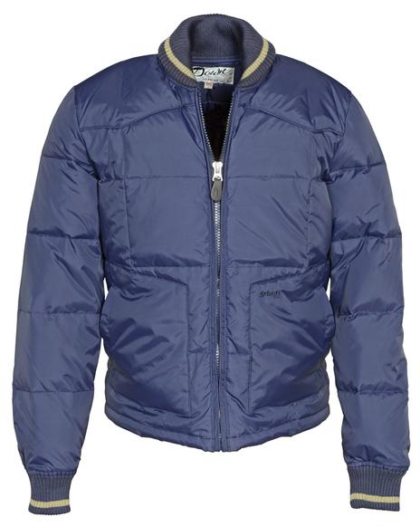 27 Nylon Goose Down Ropers Jacket 9206d