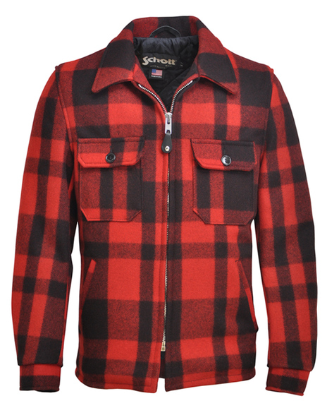 29 24oz Wool Blend Plaid Work Jacket 702pj
