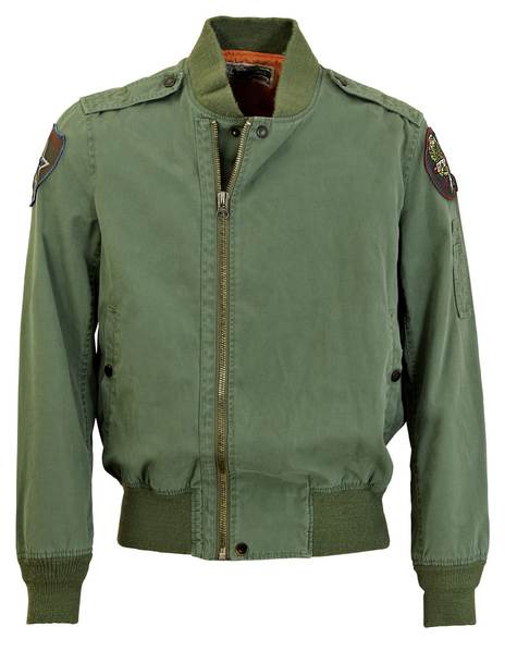 Cotton Ma-1 Flight Jacket 81324