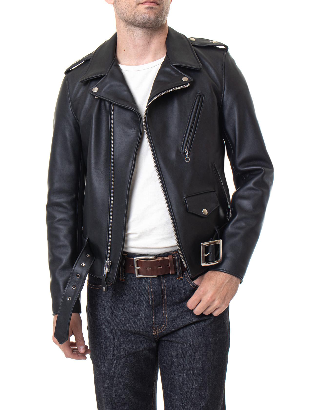 Jackets schott men leather for Men's Pea
