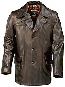 Who makes decent 70s era leather car coats? | The Fedora Lounge