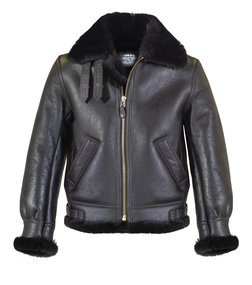 Schott N.Y.C. 257S Classic B 3 Sheepskin Leather Bomber Jacket