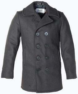 aa52ff67 Classic 32 Oz. Melton Wool Navy Men Peacoat