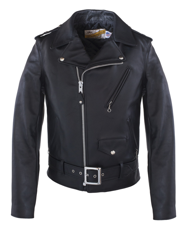 1920s Men's Coats & Jackets History Mens One Star Perfecto® Motorcycle Jacket - Slim Fit $800.00 AT vintagedancer.com