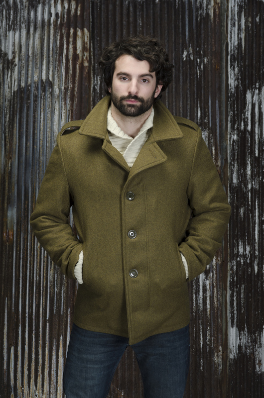 M41 Field Coat In 24oz Wool 798