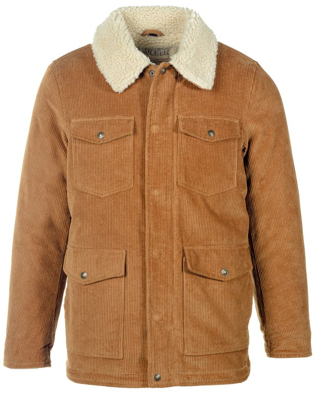 Men's Vintage Workwear Inspired Clothing Corduroy Rancher Jacket $260.00 AT vintagedancer.com