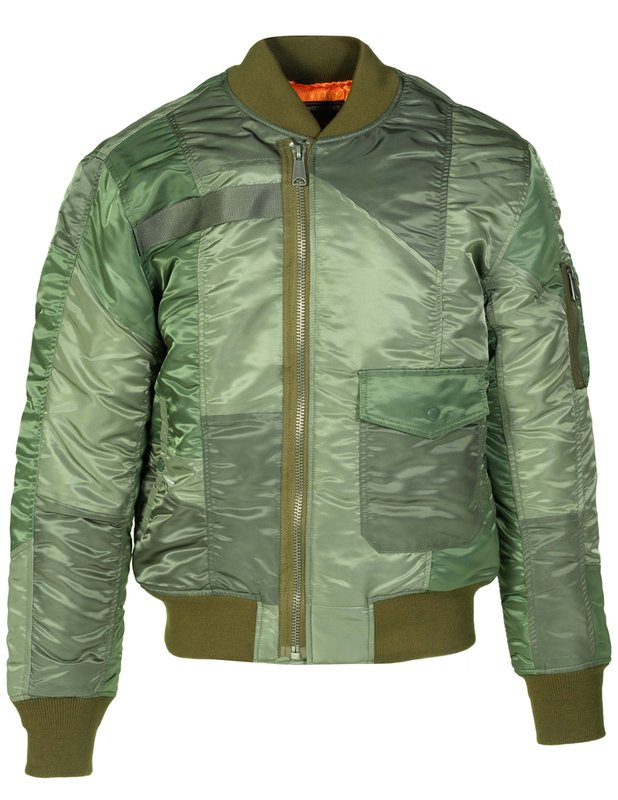 Men's Vintage Jackets & Coats Mens MA-1 Style Flight jacket $99.00 AT vintagedancer.com