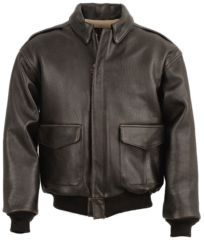 A2 flight leather jacket