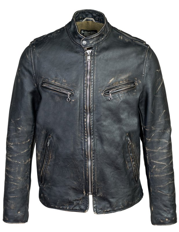 50s Men's Jackets | Greaser Jackets, Leather, Bomber, Gabardine Hand Vintaged Cowhide Café Racer Jacket $1,075.00 AT vintagedancer.com