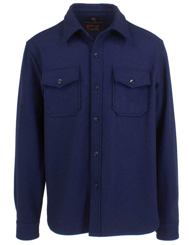 1930s Mens Shirts | Dress Shirts, Polo Shirts, Work Shirts Mens CPO Wool Shirt $120.00 AT vintagedancer.com