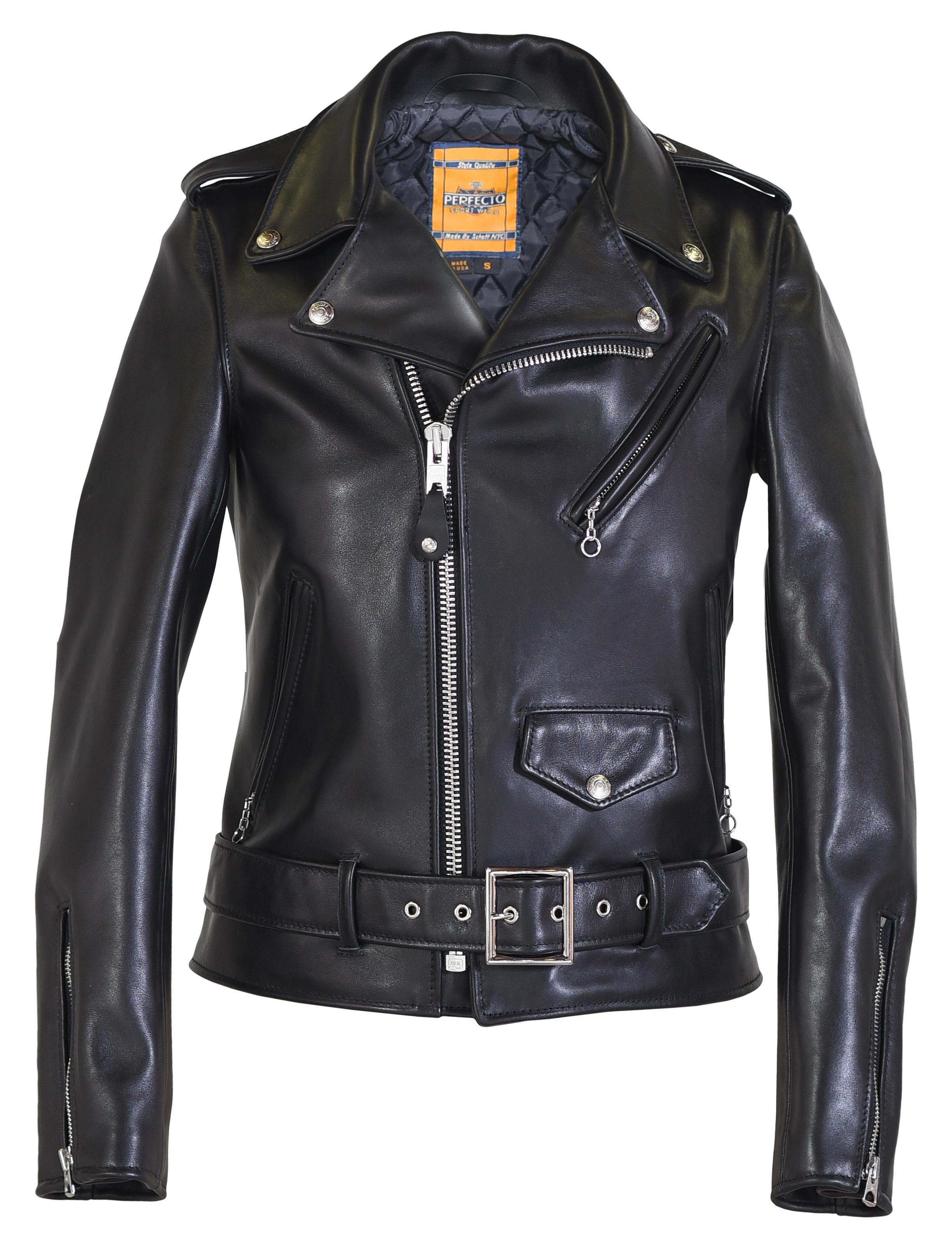 Schott N.Y.C. 137W Women's Leather Motorcycle Jacket