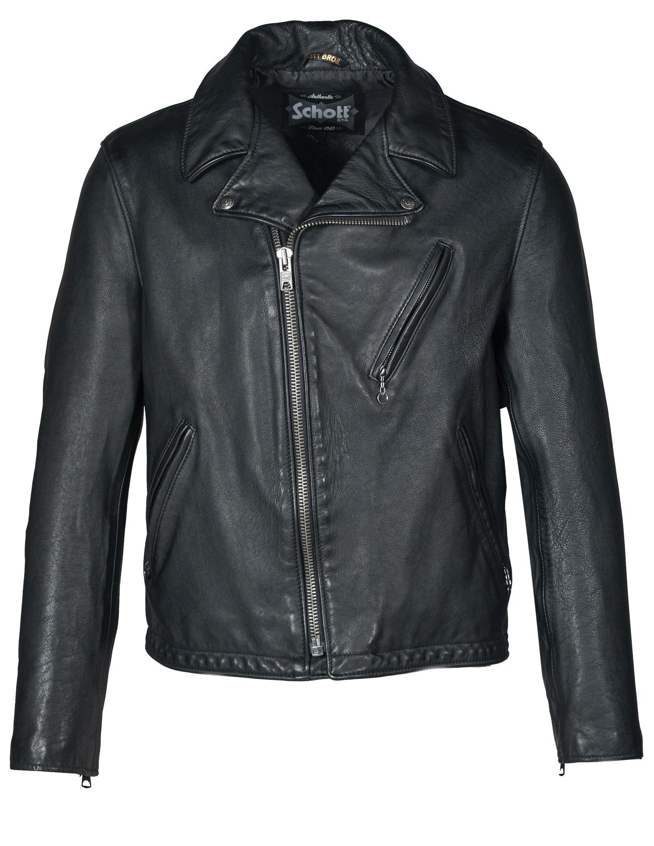 Schott N.Y.C. 503VN Hand Vintaged Cowhide Clean Motorcycle Jacket