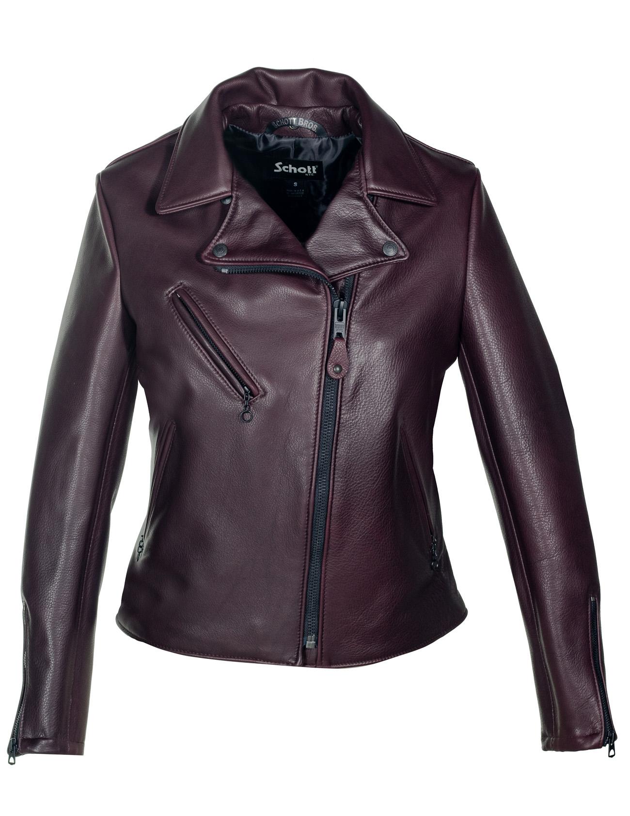 Schott N.Y.C. 503W Women's Cowhide Moto Jacket