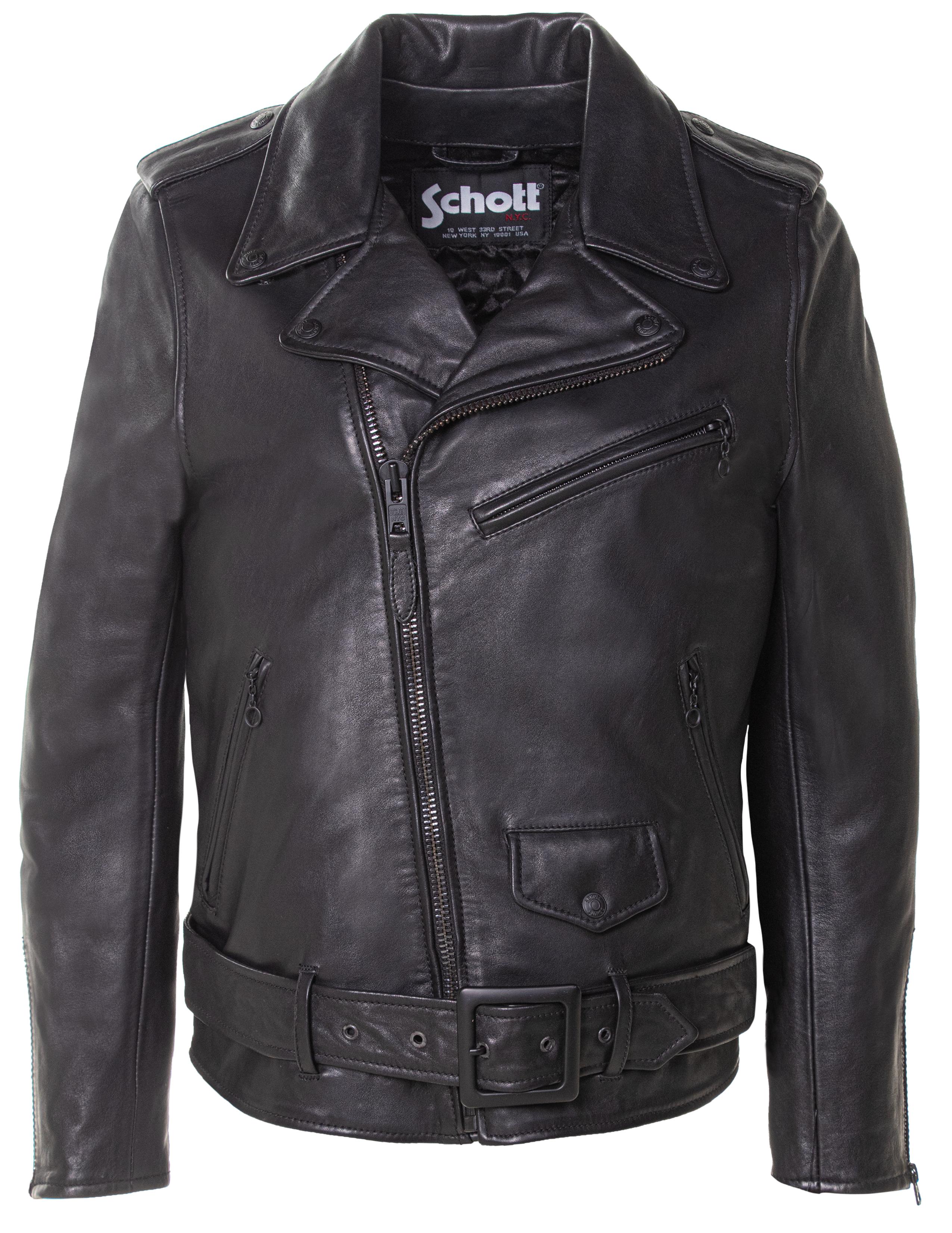 Schott N.Y.C. 518W Women's Oversized Cowhide Motorcyle Jacket