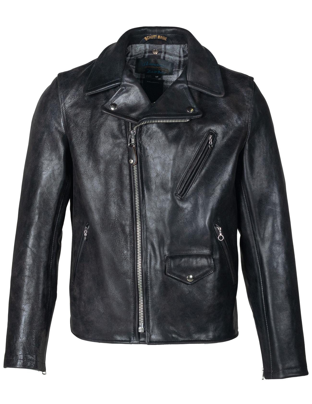 Schott N.Y.C. 520316 3sixteen X Schott Horween Motorcycle Jacket