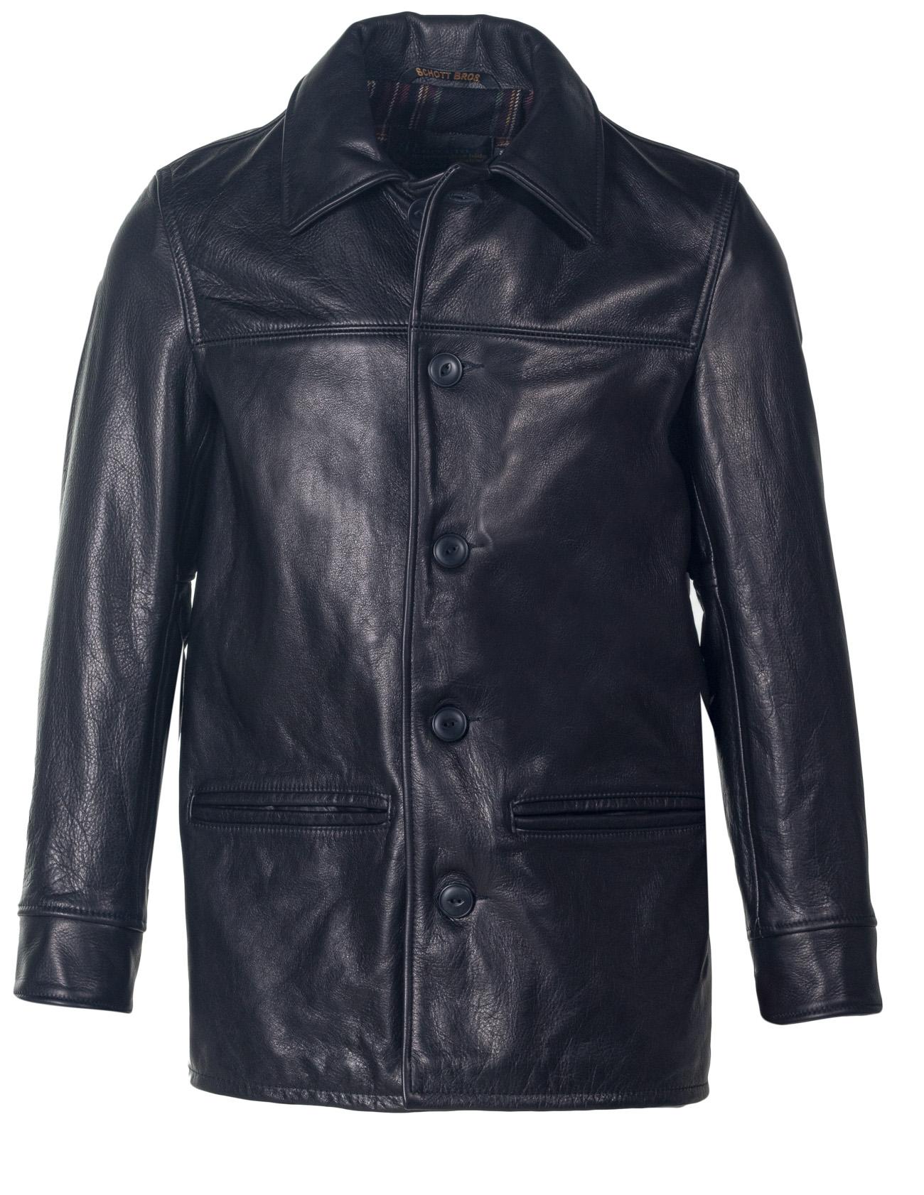 Jackets schott men leather for Schott Horween