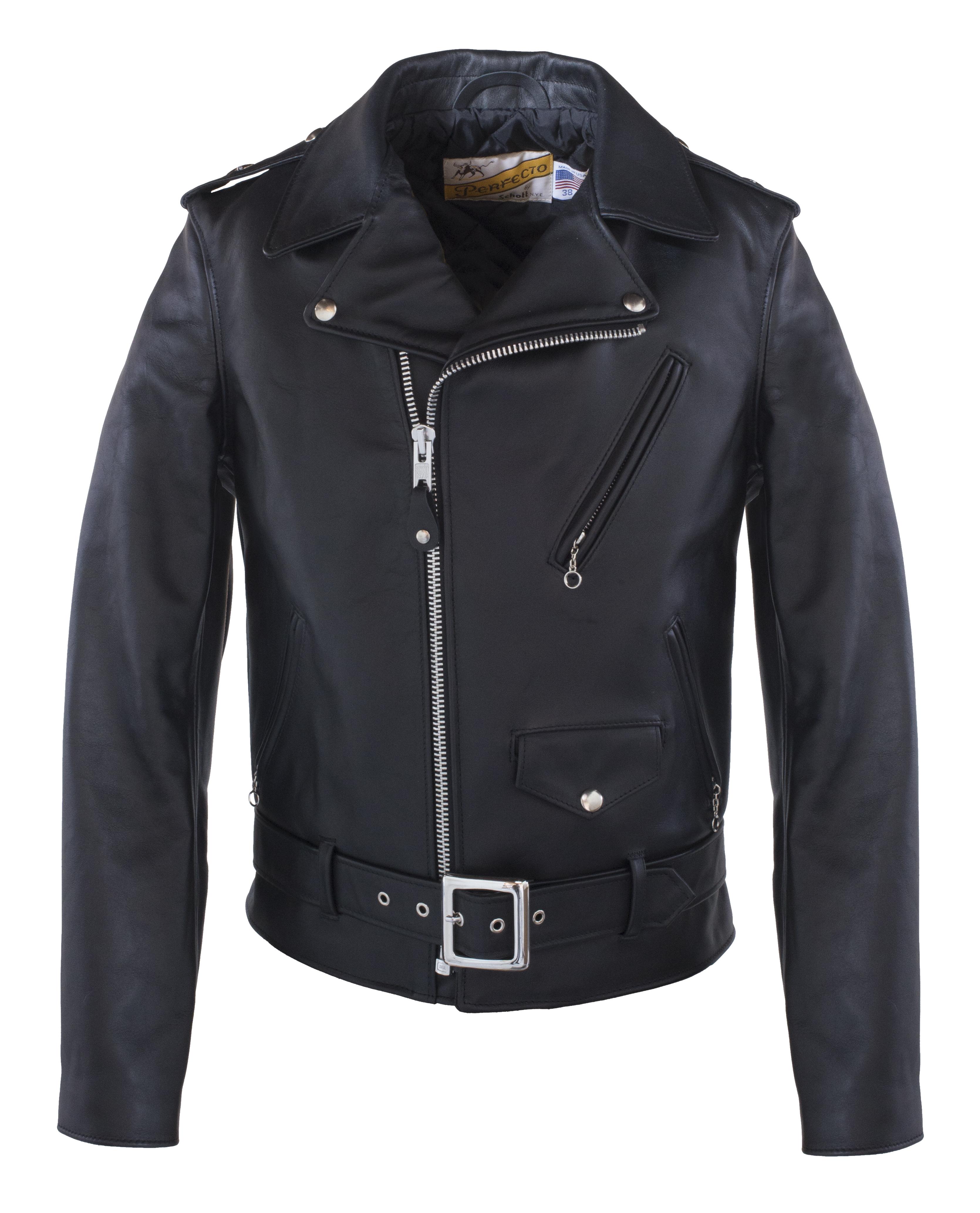 Schott N.Y.C. 613S Men's One Star Perfecto® Motorcycle Jacket