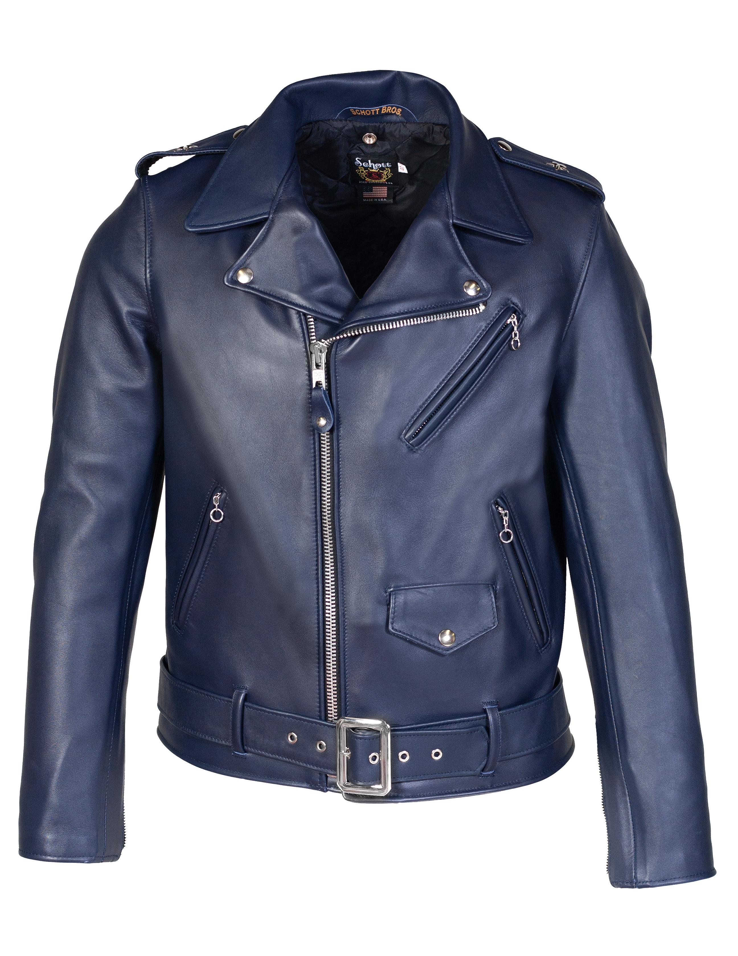 Schott N.Y.C. 613UST Men's Steerhide Motorcycle Jacket