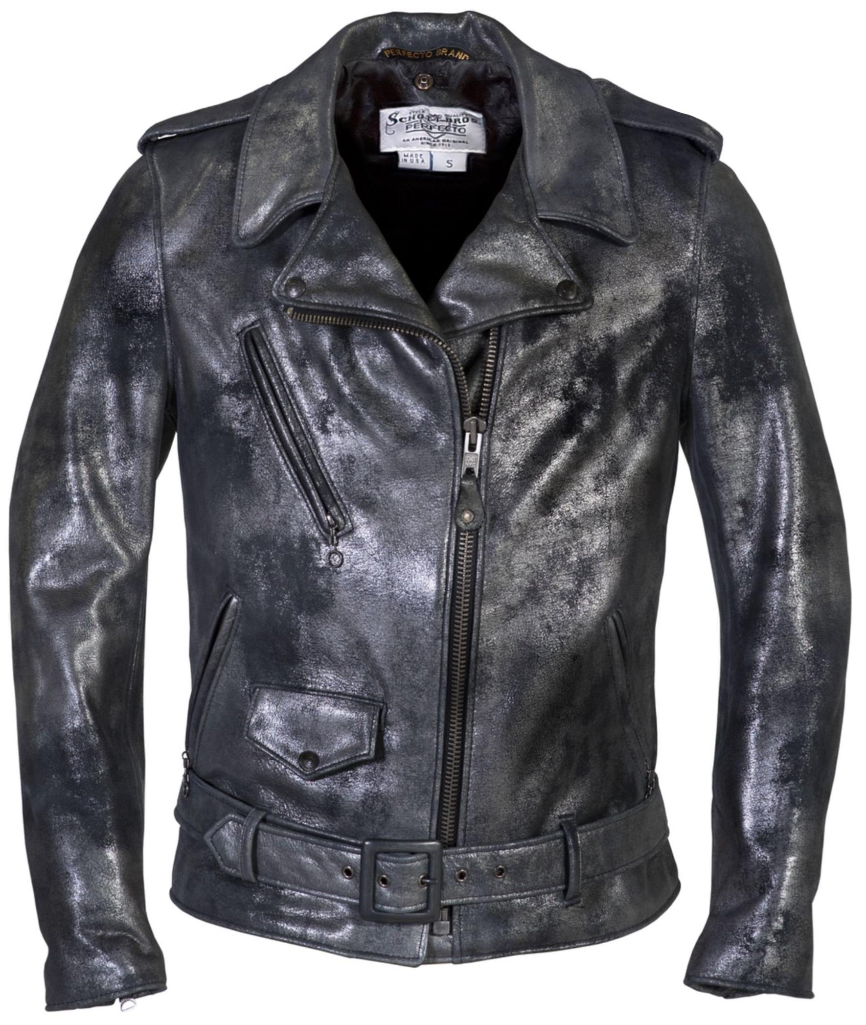 """Schott N.Y.C. 633W """"Heavy Metal Girl"""" boyfriend cut moto jacket"""