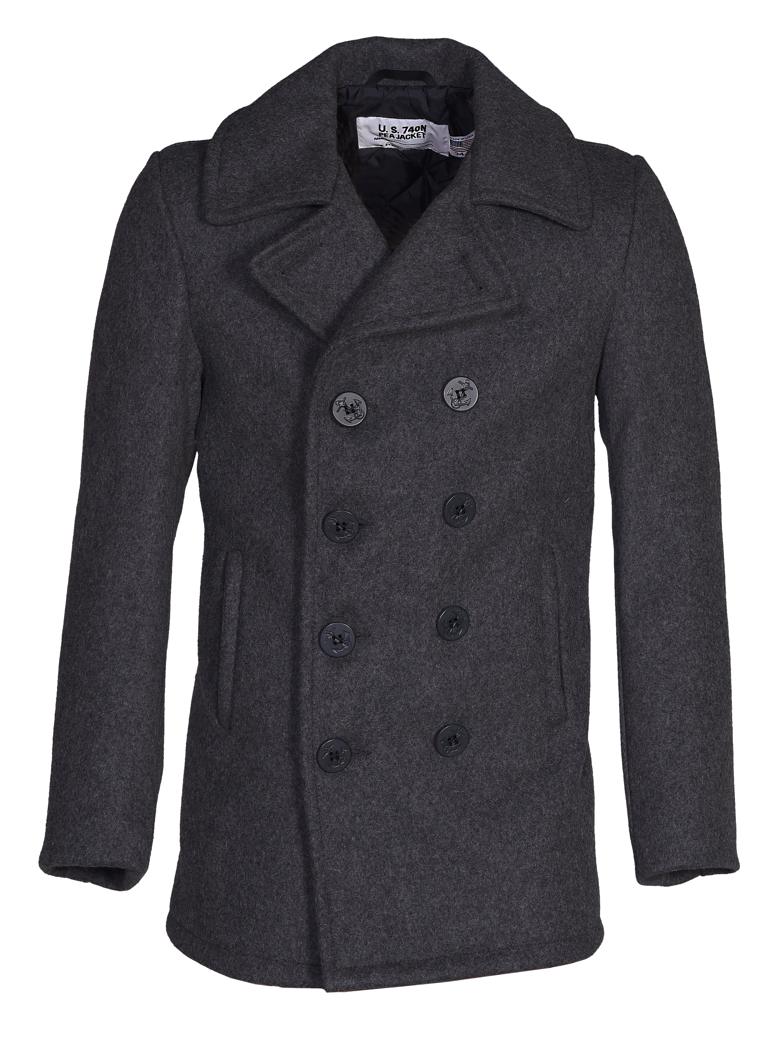 select for newest lowest discount new styles Schott N.Y.C. 740 The Original Navy Pea Coat