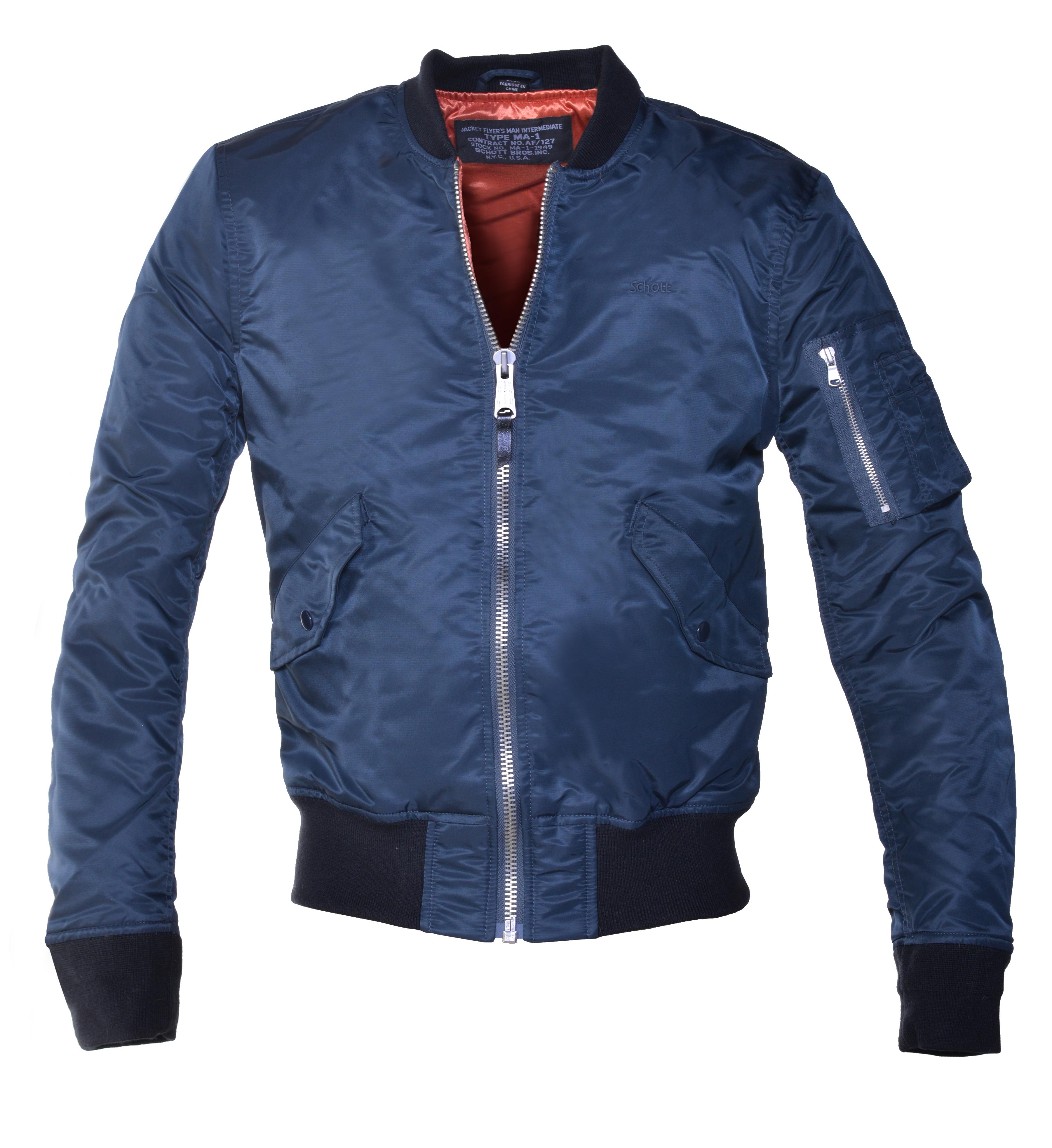 588c37405 Nylon MA-1 Flight Jacket