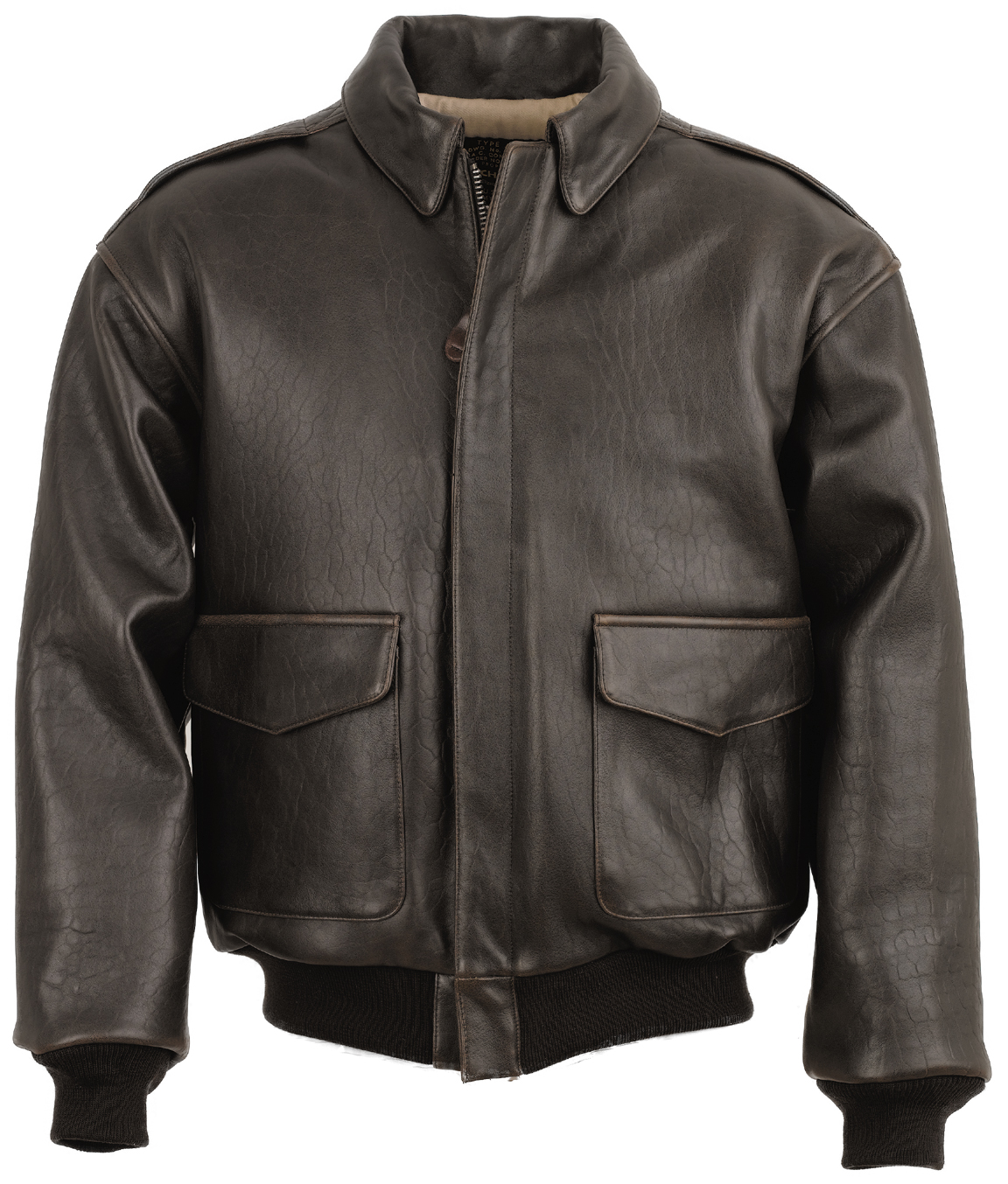 Schott N.Y.C. A2SM A-2 Leather Flight Jacket