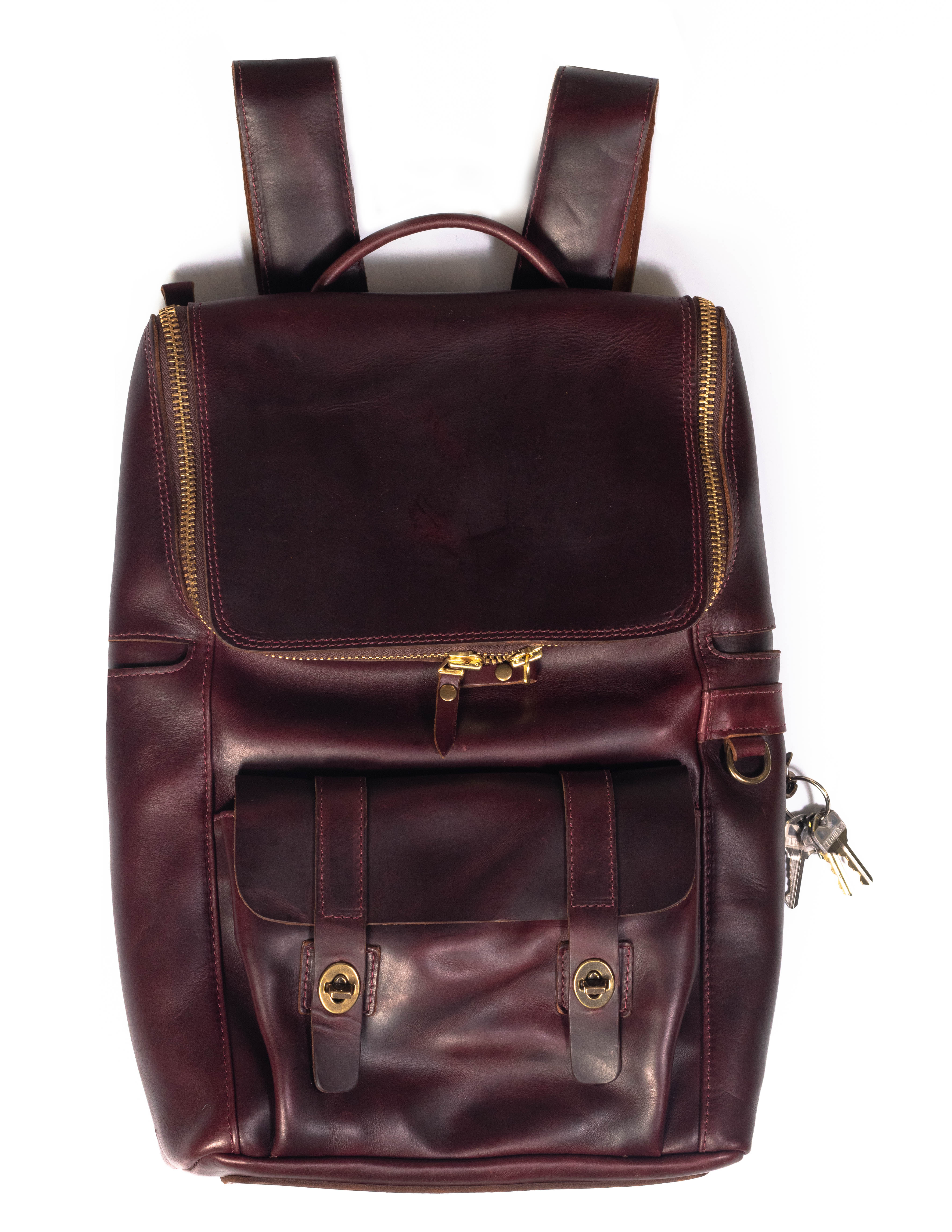 Coronado Leather Co. Americana Backpack