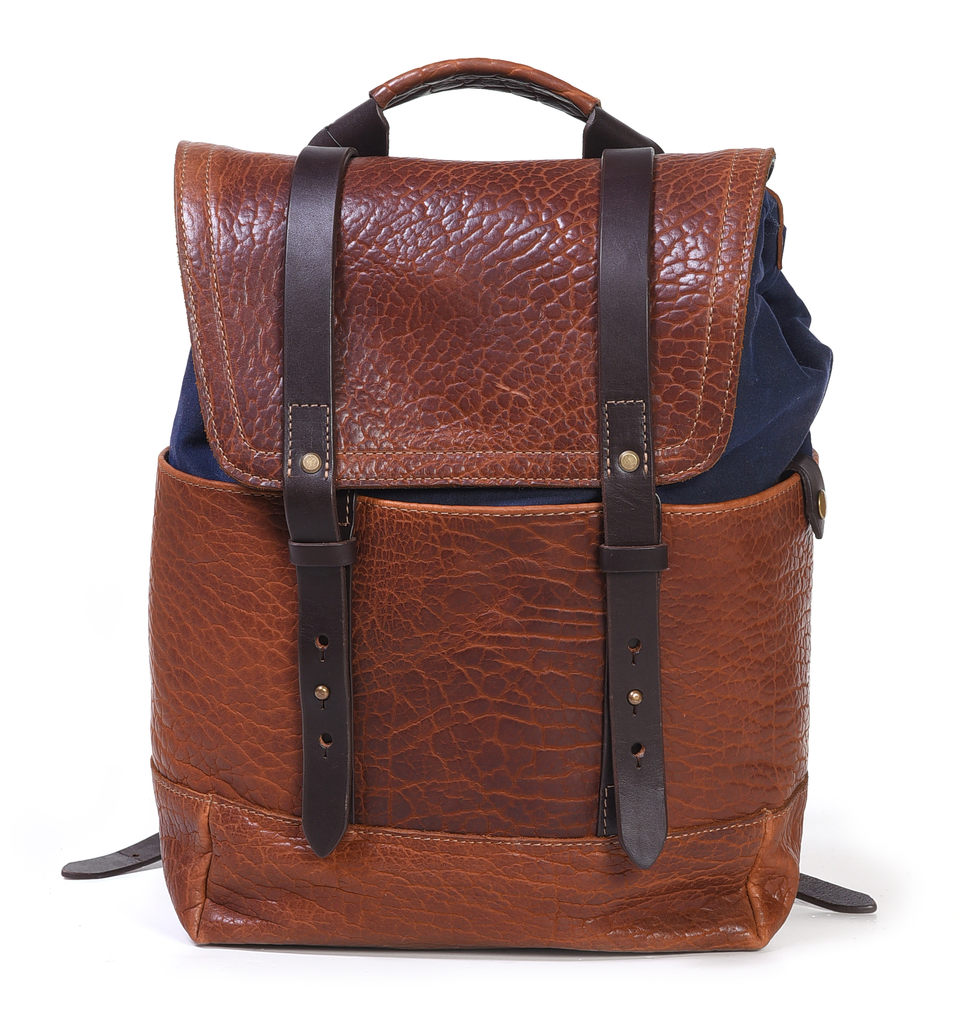 Coronado Leather Co. Bison Redwood Backpack