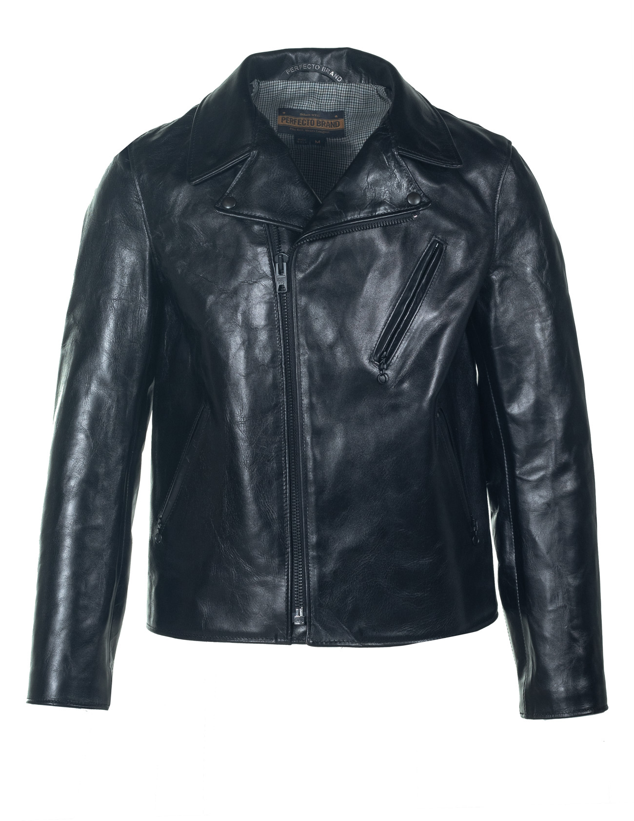 Schott N.Y.C. P623H Horween Horsehide Clean Perfecto® Leather Jacket