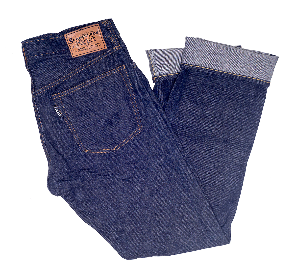 Schott N.Y.C. US6039 13 Oz. Japanese Selvedge Denim Jeans
