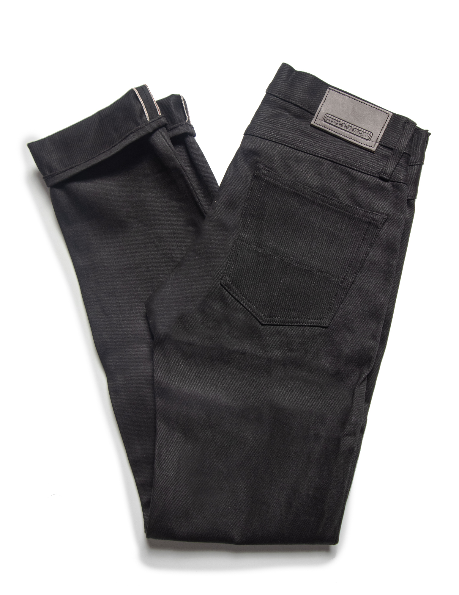 Tellason TE101 Men's Black Selvage Jeans